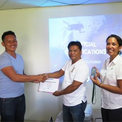 April 2018 – A new assessor team for Green Fins in Negros Oriental, Philippines